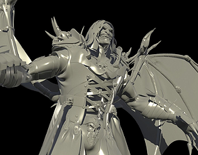 3D model Old Vampire Hi poly
