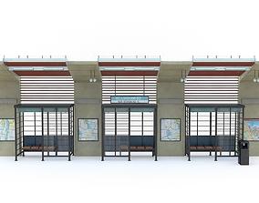 Bus Stop 10 3D model