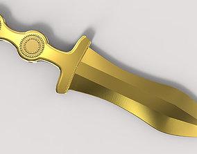 Functionnal roman pugio replica 3D print model