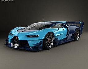 3D Bugatti Vision Gran Turismo 2015
