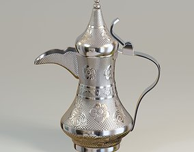 3D model Antique Arabic coffee pot