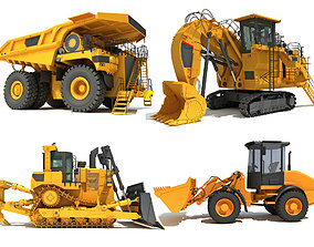 Mining Machine 3D Models