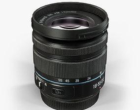 3D model Samsung 18-55mm Lens