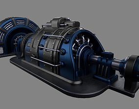 3D asset Machinery device
