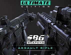SBG Assault Rifle - Ultimate Edition 3D model
