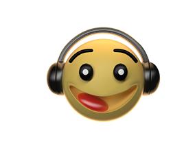3D model animated Emoji Character