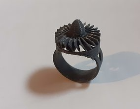 3D print model Jet Turbine Ring with movement