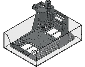 CNC router benchtop mill 3D model