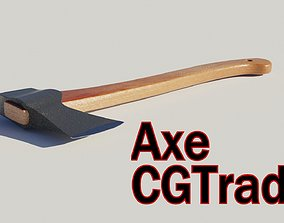 Axe Hatchet type model realtime