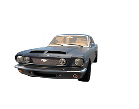 Ford Mustang Car - 1965 Model