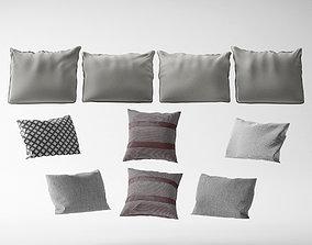 Mixed Pillows - Diversified Designs 3D
