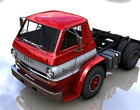 DODGE L700 TILT CAB TRUCK 1969 3D model