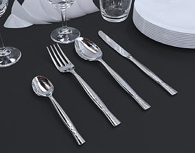 3D model Cutlery set4