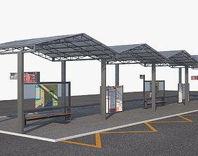 Bus Stop 3a 3D