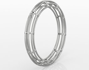 3D print model Lines Ring 1