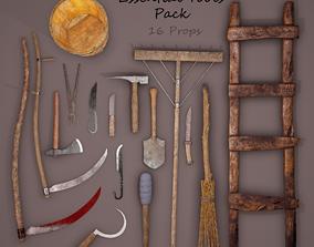 Medieval Essential Tools Pack 3D