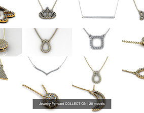 3D Jewelry Pendant COLLECTION