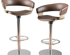 3D Barstool and Counter Stool Mollie Allermuir swivel
