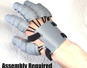 Universal Cosplay Hand Armor Gauntlet 3D printable model
