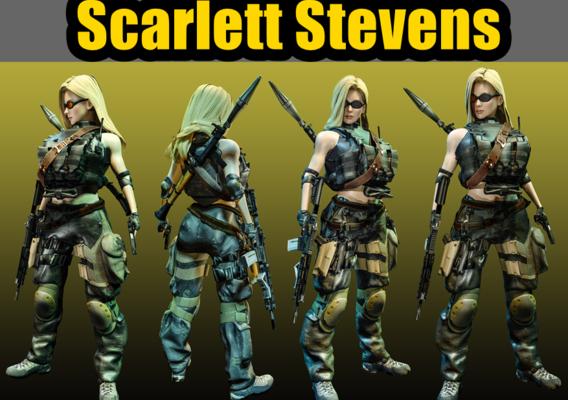 Scarlett stevens MERCENARY