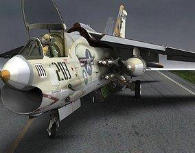 F8E Crusader for Poser 3D