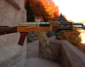3D asset VR / AR ready AK-47