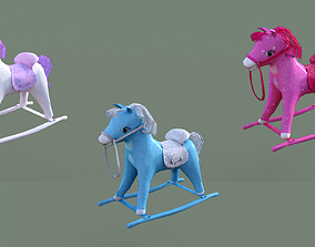 3D asset Sugar Pony For Kids low prims