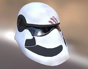3D asset Stromtrooper helmet - design
