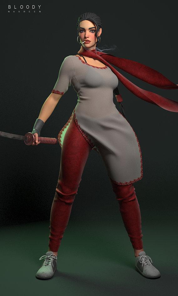 Bloody Nasreen 3d