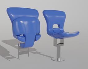 3D Plastic stadium seat FCB