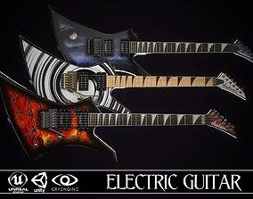 3D model Electric guitar Jackson Kelly 3 skins