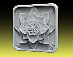 3D printable model Rozette 034 decor