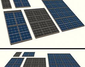 3D model generator Solar panel
