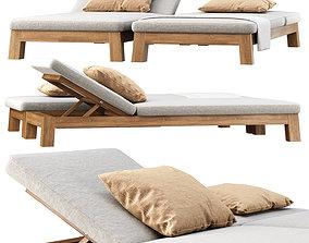 3D GIJS Sun lounger by Piet Boon