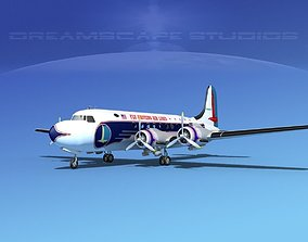 3D model Douglas DC-4 Eastern Airlines 2
