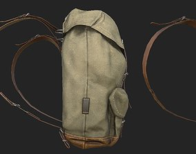 realtime 3D RealTime backpack for GAME