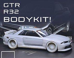 GTR R32 BODYKIT For tamiya 1-24 Modelkit