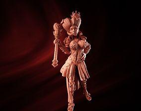 3D printable model queen of hearts sla
