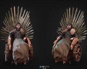 Bran Stark 3D print model zbrush