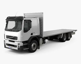 Volvo FE Flatbed Truck 2009 3D model