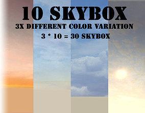 3D model Skybox Pack for games