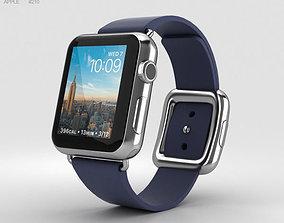 3D Apple Watch Series 2 38mm Stainless Steel Case Midnight