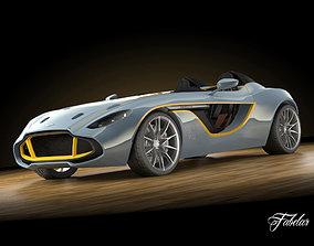 3D Aston Martin CC100