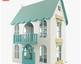 3D model Woodlines Dollhouse Arina