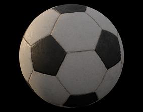 3D asset Soccar ball
