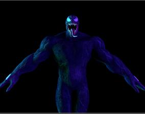 Venom 3D asset