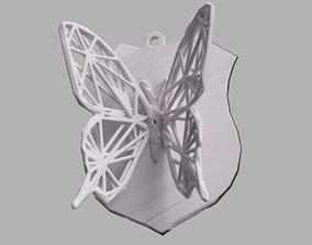3D print model Papillon voronoi