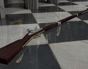 Brown Bess Flint Lock Muskeet 3D model