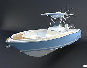 Catalina Chris Craft boat 26 3D model