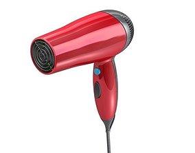 3D Hairdryer hairdryer